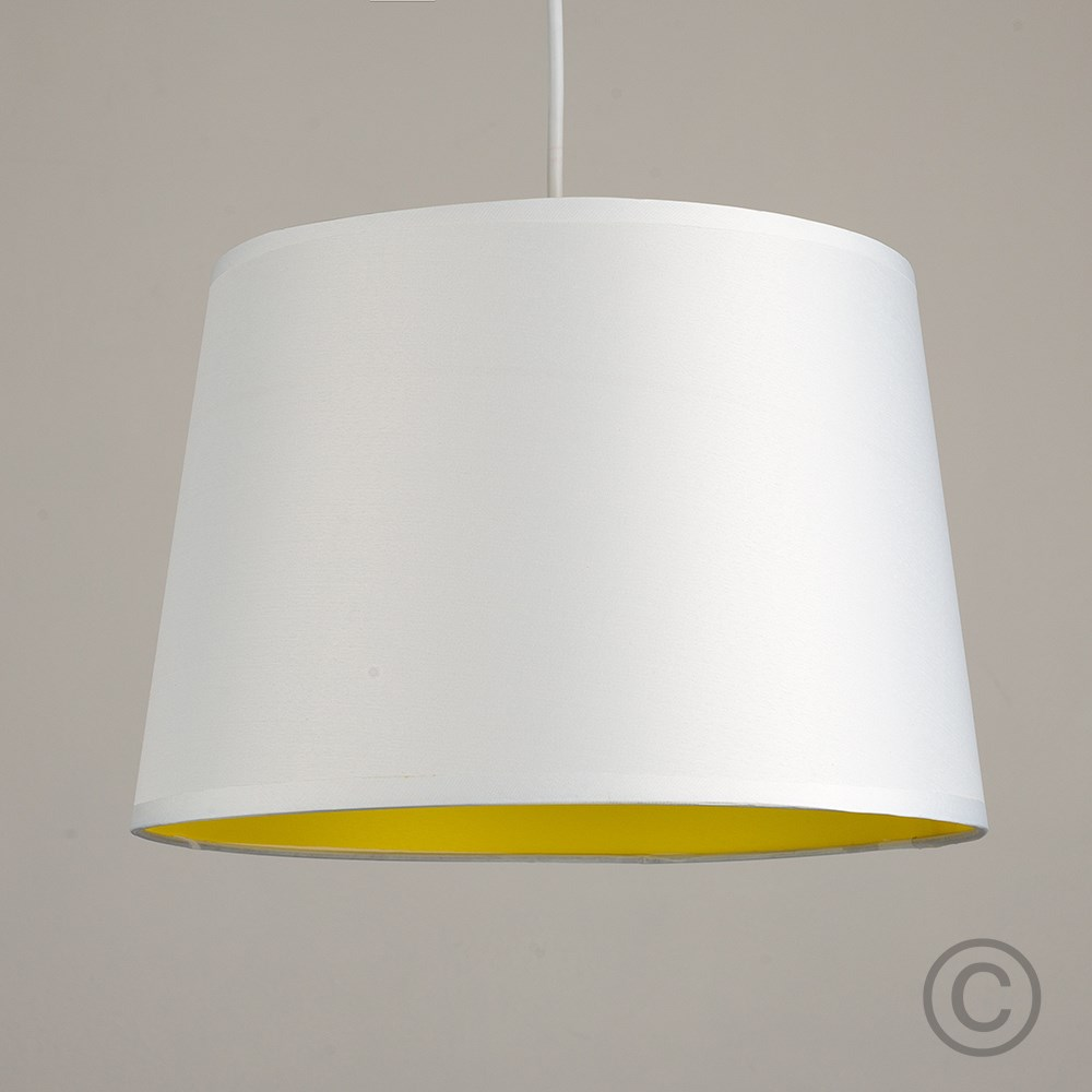 Moderno-Bianco-Da-Soffitto-Tavolo-O-Lampadario-Lampada-da-terra-paralume-colorato-interno miniatura 25