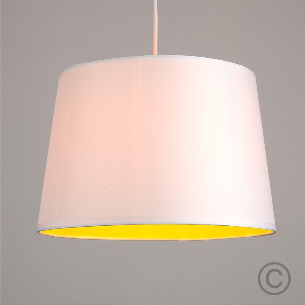 Moderno-Bianco-Da-Soffitto-Tavolo-O-Lampadario-Lampada-da-terra-paralume-colorato-interno miniatura 26