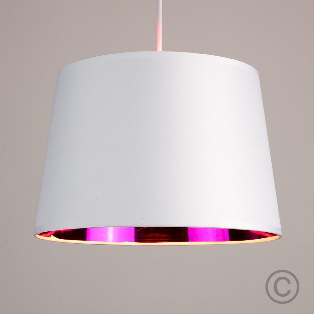 Moderno-Bianco-Da-Soffitto-Tavolo-O-Lampadario-Lampada-da-terra-paralume-colorato-interno miniatura 20