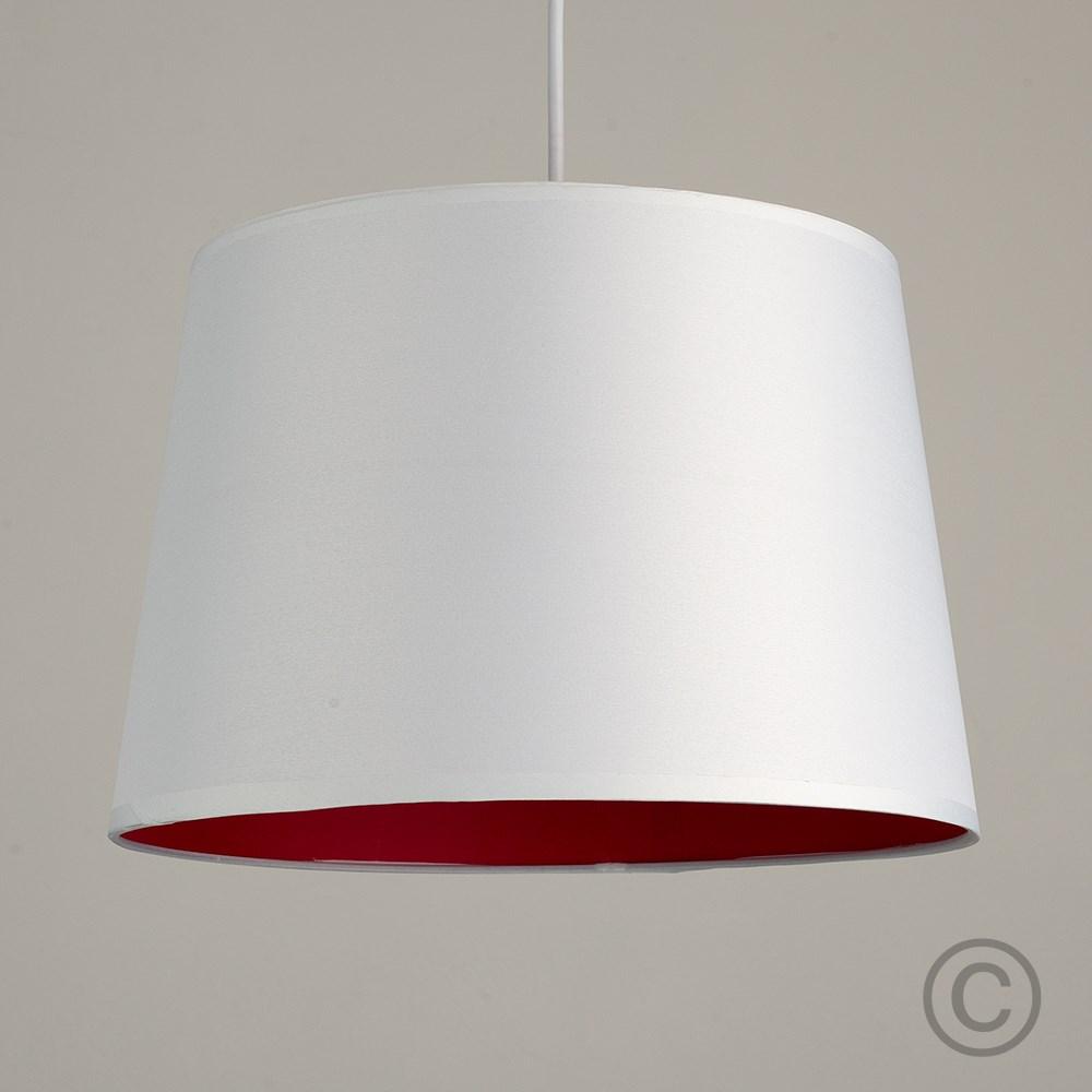 Moderno-Bianco-Da-Soffitto-Tavolo-O-Lampadario-Lampada-da-terra-paralume-colorato-interno miniatura 22