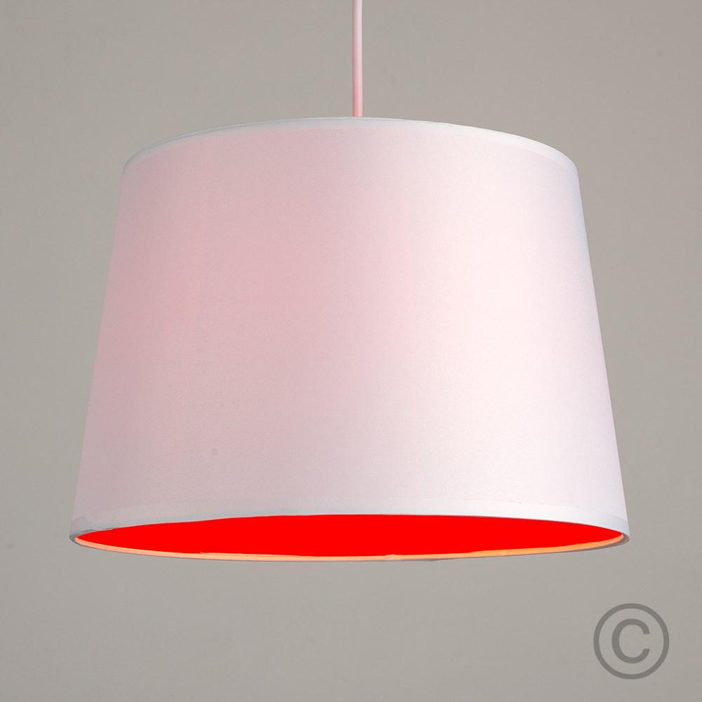 Moderno-Bianco-Da-Soffitto-Tavolo-O-Lampadario-Lampada-da-terra-paralume-colorato-interno miniatura 23