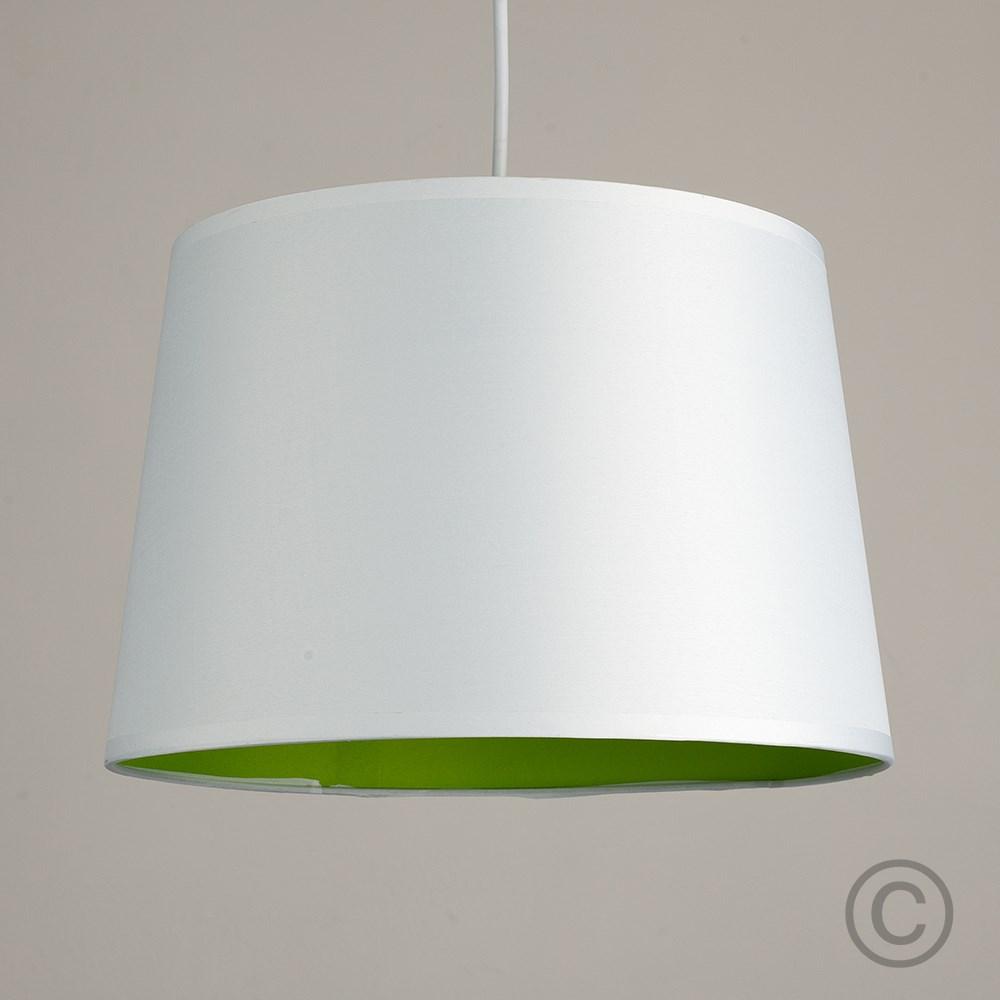 Moderno-Bianco-Da-Soffitto-Tavolo-O-Lampadario-Lampada-da-terra-paralume-colorato-interno miniatura 16
