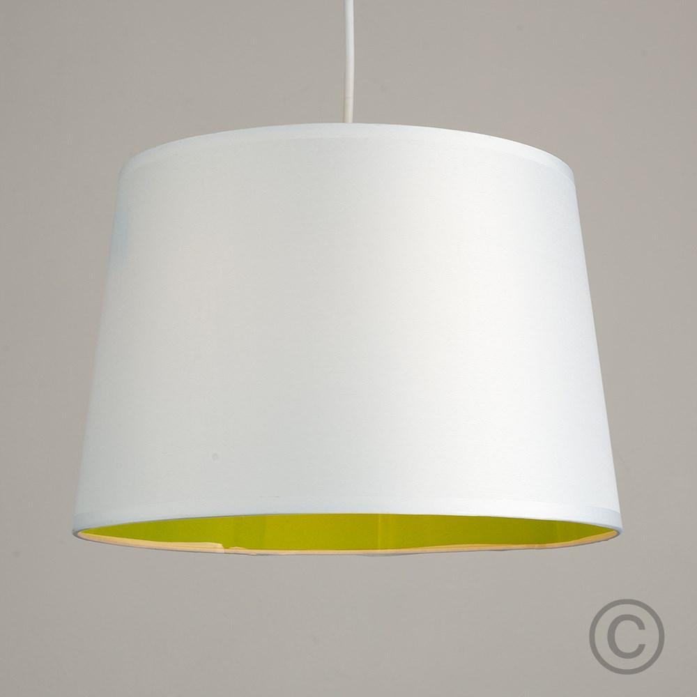 Moderno-Bianco-Da-Soffitto-Tavolo-O-Lampadario-Lampada-da-terra-paralume-colorato-interno miniatura 17
