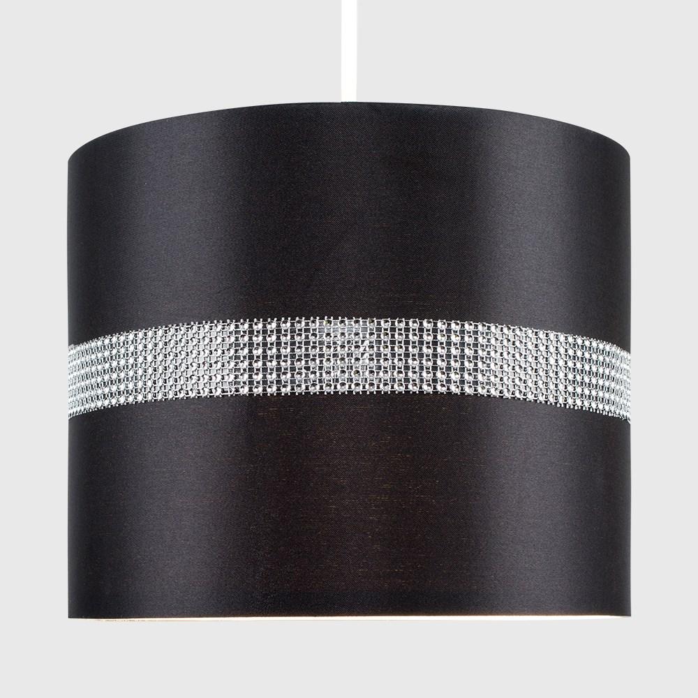 Diamante-non-elettrico-in-Tessuto-Cotone-Tamburo-Tonalita-Tavolo-O-Lampadario-Lampada-da-terra miniatura 4
