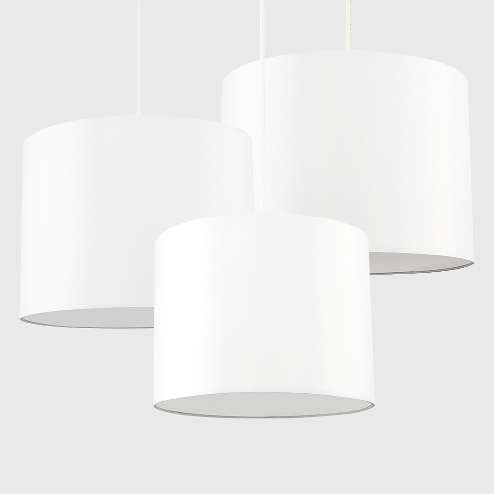 Set-of-3-Modern-Nesting-Non-Electric-Pendant-Shade-Fitting-Ceiling-Lampshade thumbnail 3