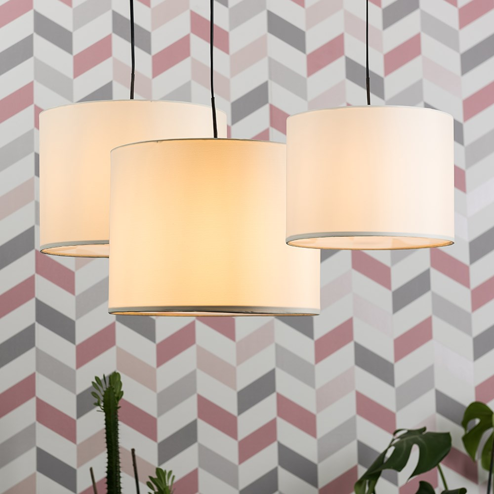 Set-of-3-Modern-Nesting-Non-Electric-Pendant-Shade-Fitting-Ceiling-Lampshade thumbnail 7