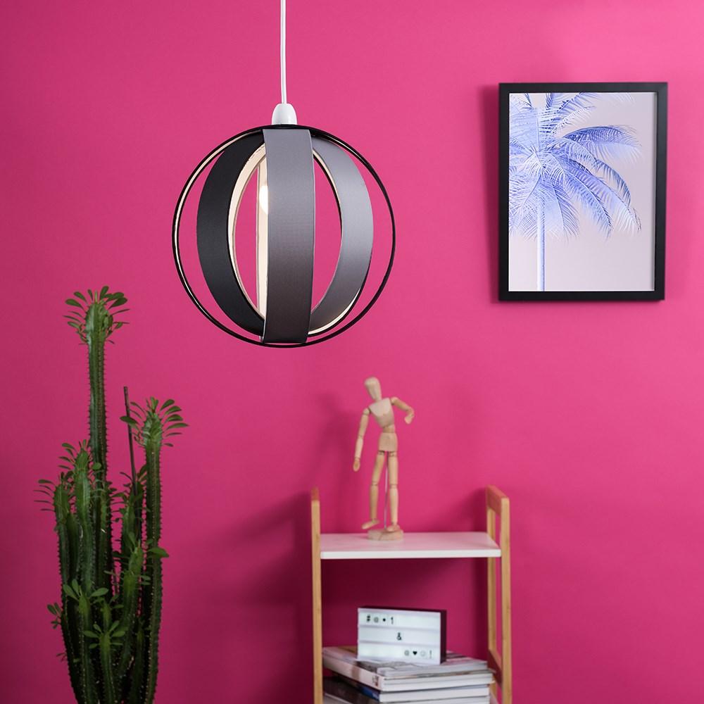 Minisun-Globe-DEL-plafond-lumiere-pendentif-nuances-Abat-jour-eclairage-Ampoule-DEL miniature 12