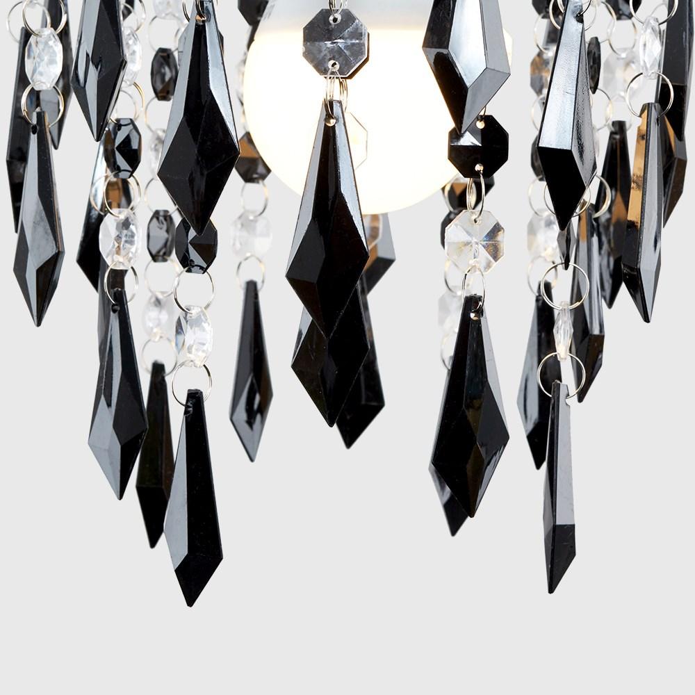 Lampara-Colgante-de-Techo-de-Cristal-Acrilico-Moderna-sombra-Joya-Candelabros-Tonos-Nuevo miniatura 5