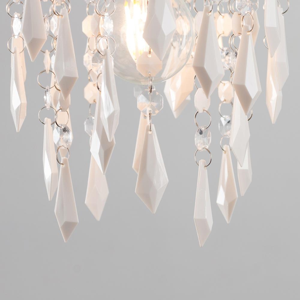 Moderno-Acrilico-Cristallo-Soffitto-Ciondolo-Luce-Ombra-Jewel-lampadari-Tonalita-Nuovo miniatura 21