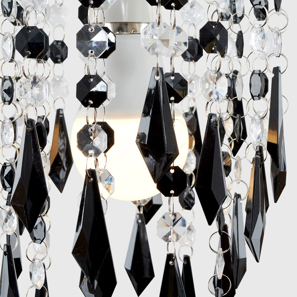 Lampara-Colgante-de-Techo-de-Cristal-Acrilico-Moderna-sombra-Joya-Candelabros-Tonos-Nuevo miniatura 6