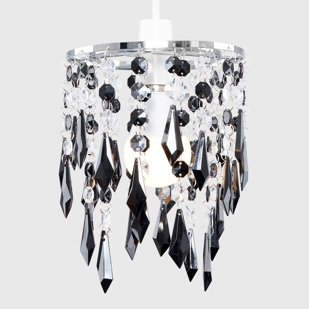 Moderno-Acrilico-Cristallo-Soffitto-Ciondolo-Luce-Ombra-Jewel-lampadari-Tonalita-Nuovo miniatura 4
