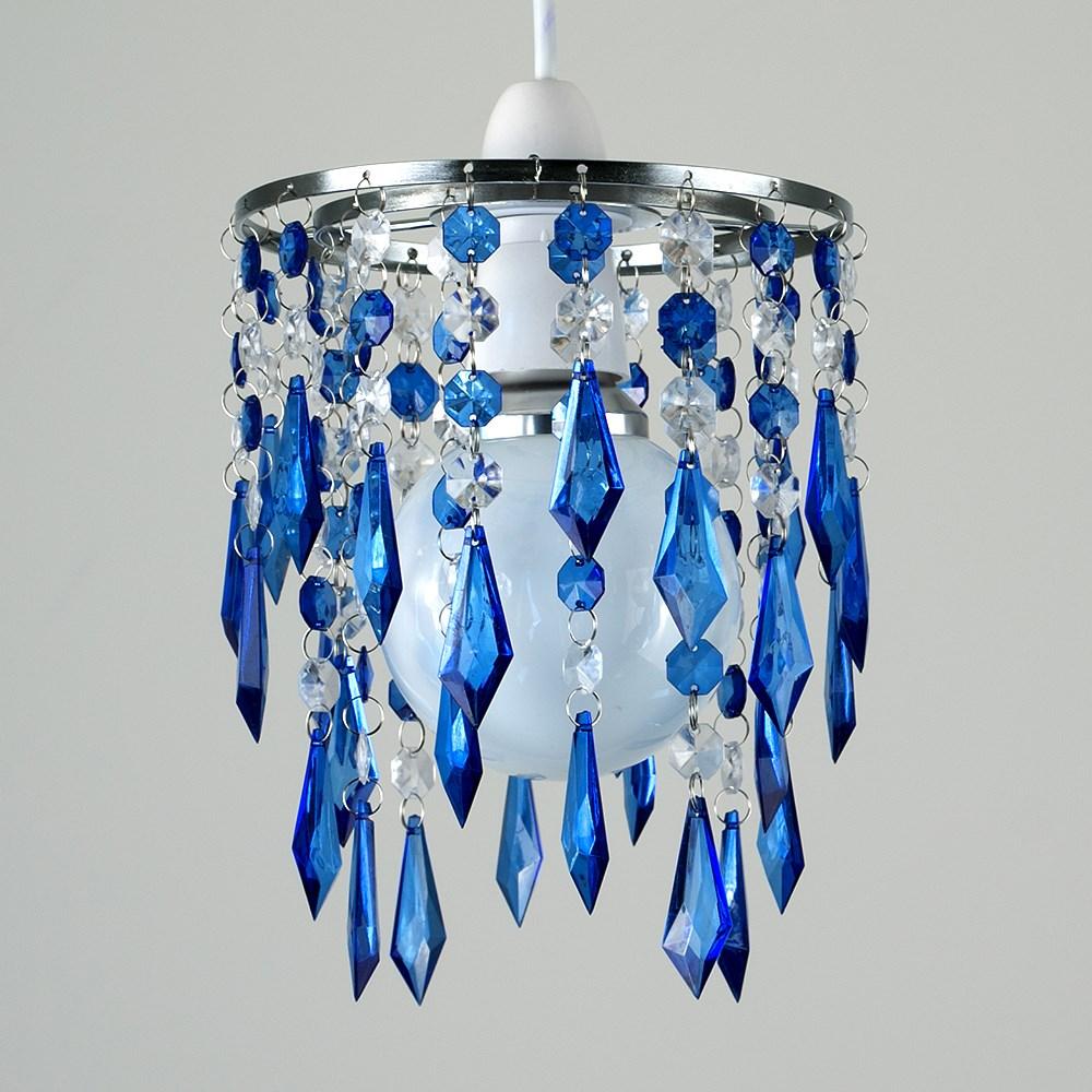 Lampara-Colgante-de-Techo-de-Cristal-Acrilico-Moderna-sombra-Joya-Candelabros-Tonos-Nuevo miniatura 8