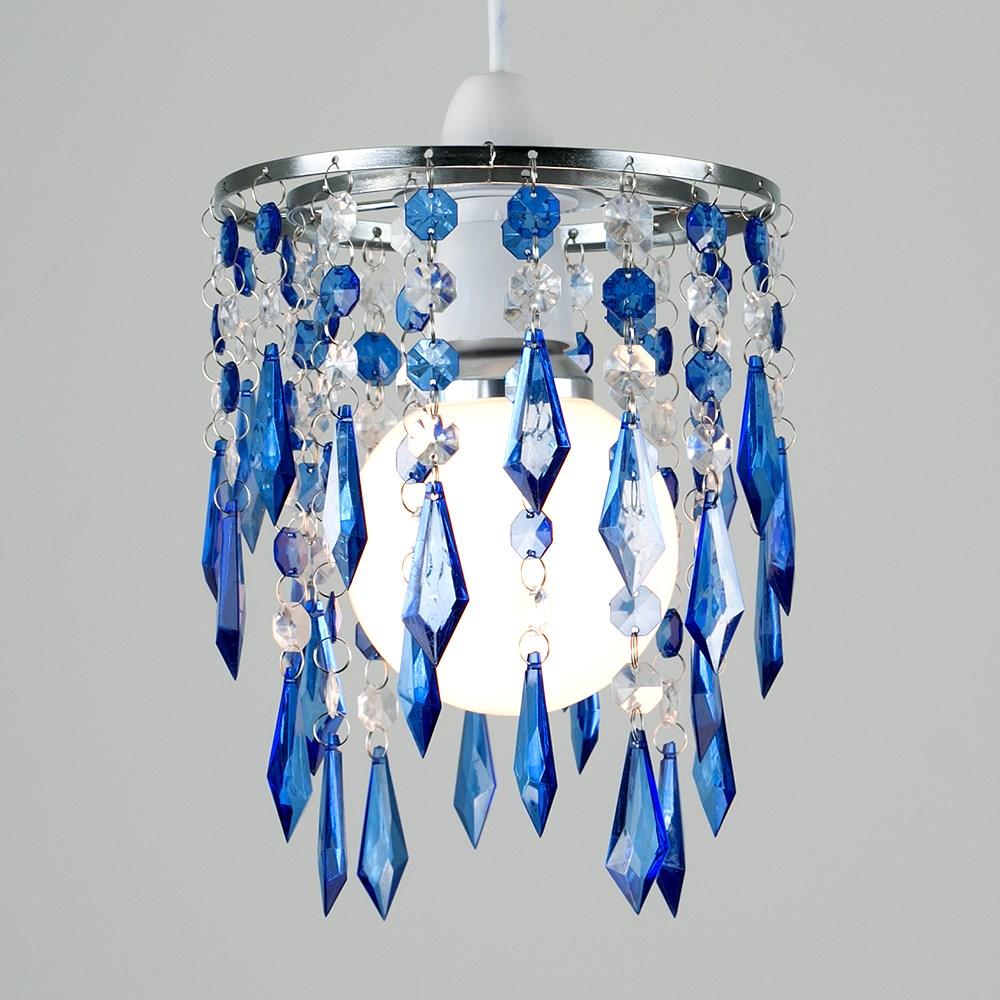 Moderno-Acrilico-Cristallo-Soffitto-Ciondolo-Luce-Ombra-Jewel-lampadari-Tonalita-Nuovo miniatura 9