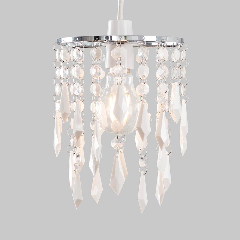 Moderno-Acrilico-Cristallo-Soffitto-Ciondolo-Luce-Ombra-Jewel-lampadari-Tonalita-Nuovo miniatura 19