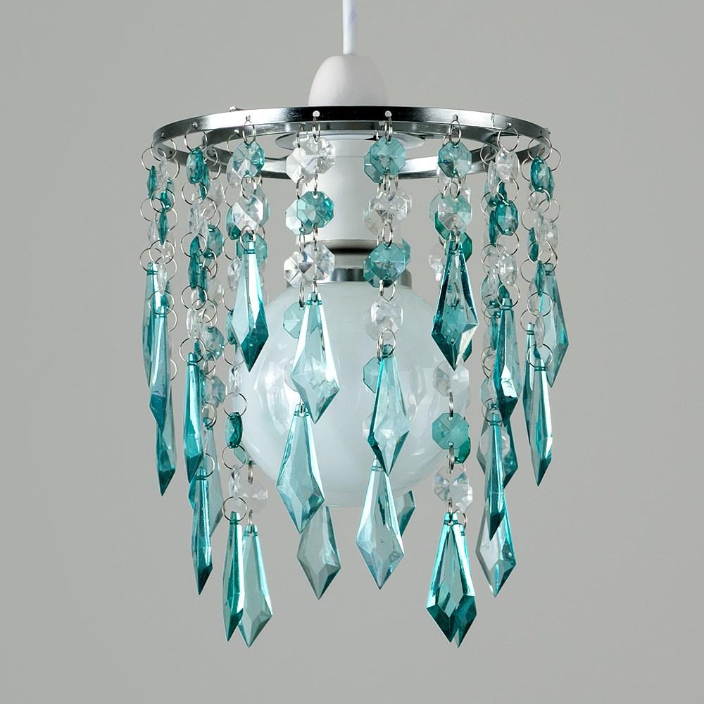 Moderno-Acrilico-Cristallo-Soffitto-Ciondolo-Luce-Ombra-Jewel-lampadari-Tonalita-Nuovo miniatura 46