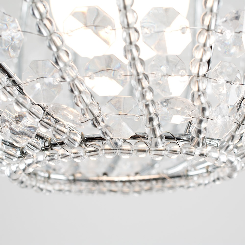 Modern-Chandelier-Easy-Fit-Ceiling-Pendant-Light-Shade-Acrylic-Glass-Shades thumbnail 38