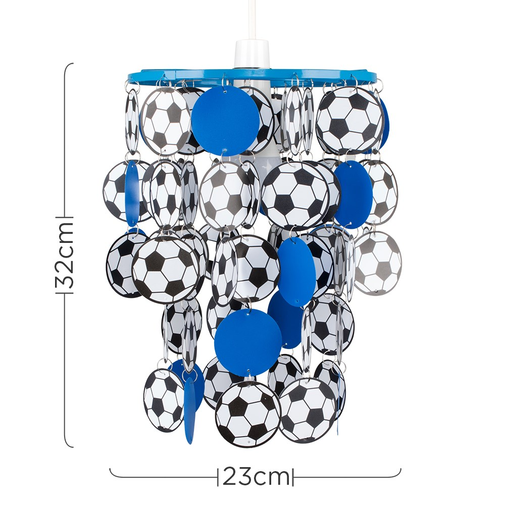 Children-039-s-Ceiling-Pendant-Shade-Kids-Football-Bedroom-Lampshades-Easy-Fit-Light thumbnail 13