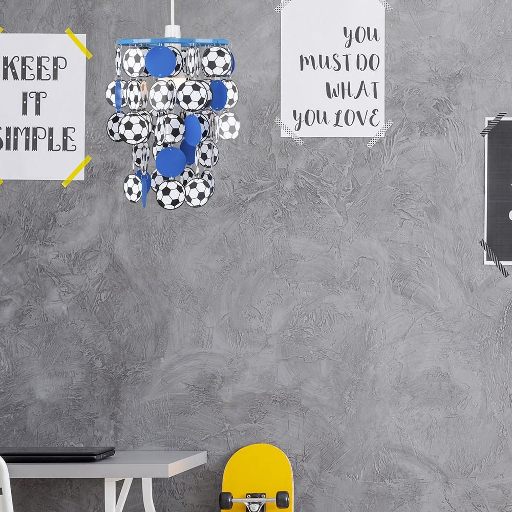 Children-039-s-Ceiling-Pendant-Shade-Kids-Football-Bedroom-Lampshades-Easy-Fit-Light thumbnail 14