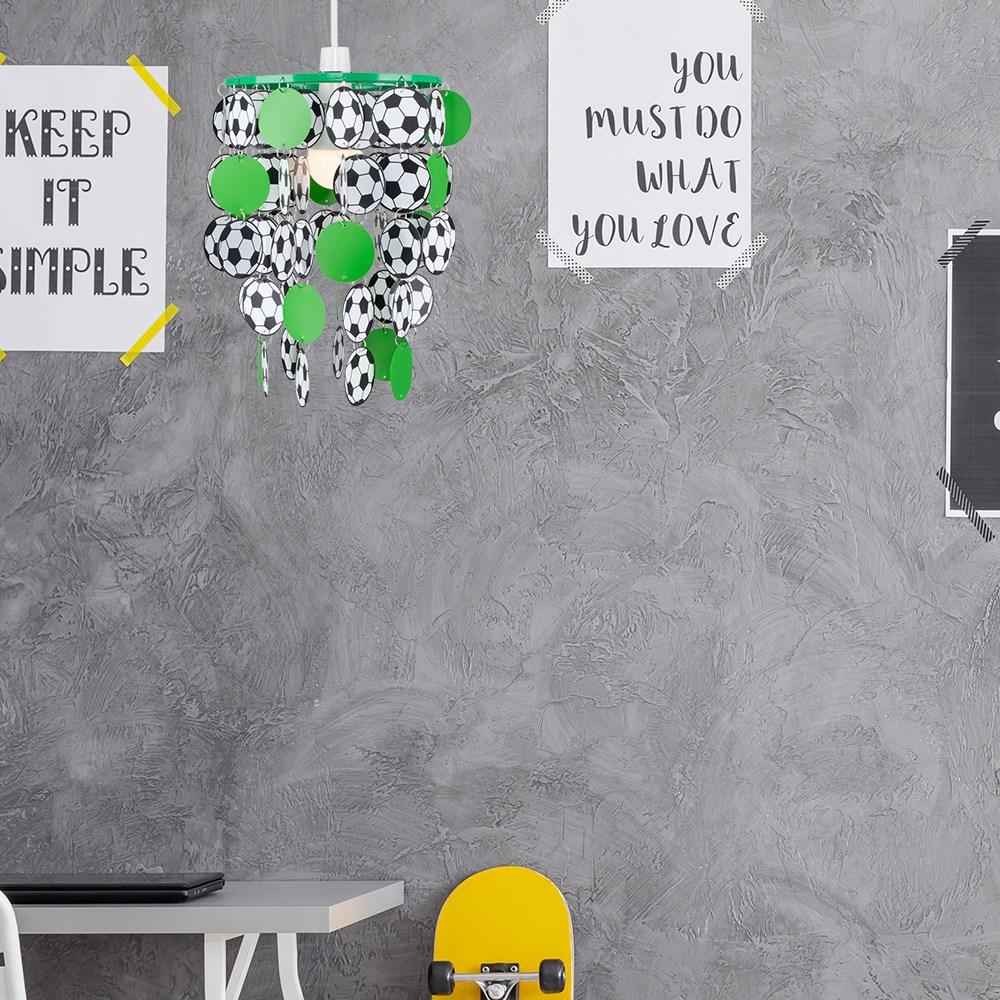 Children-039-s-Ceiling-Pendant-Shade-Kids-Football-Bedroom-Lampshades-Easy-Fit-Light thumbnail 21
