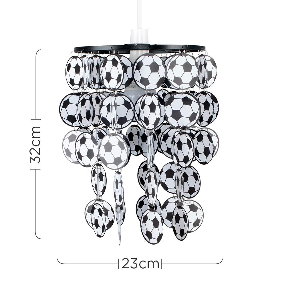 Children-039-s-Ceiling-Pendant-Shade-Kids-Football-Bedroom-Lampshades-Easy-Fit-Light thumbnail 6