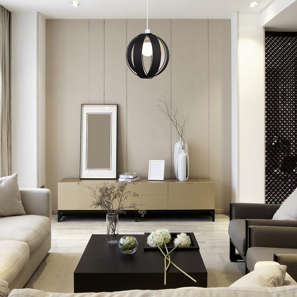 Minisun-Globe-DEL-plafond-lumiere-pendentif-nuances-Abat-jour-eclairage-Ampoule-DEL miniature 7