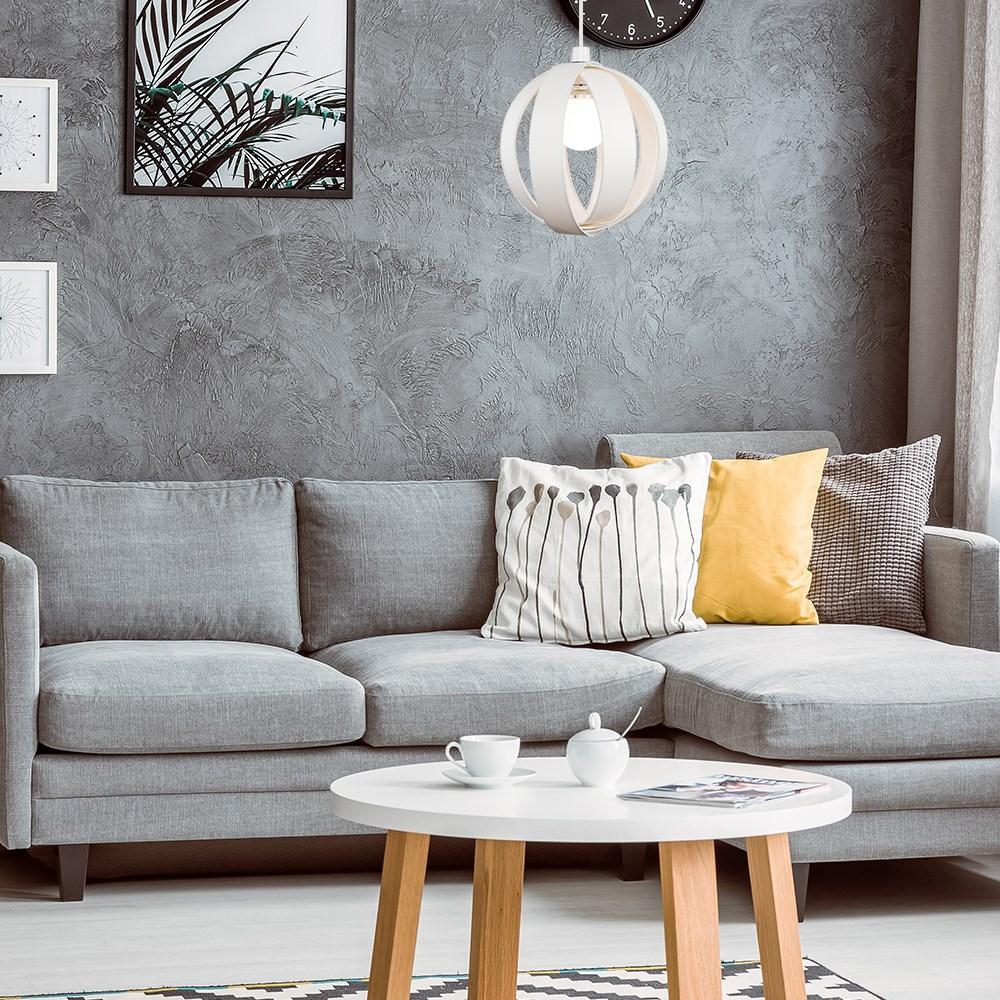 Minisun-Globe-DEL-plafond-lumiere-pendentif-nuances-Abat-jour-eclairage-Ampoule-DEL miniature 26