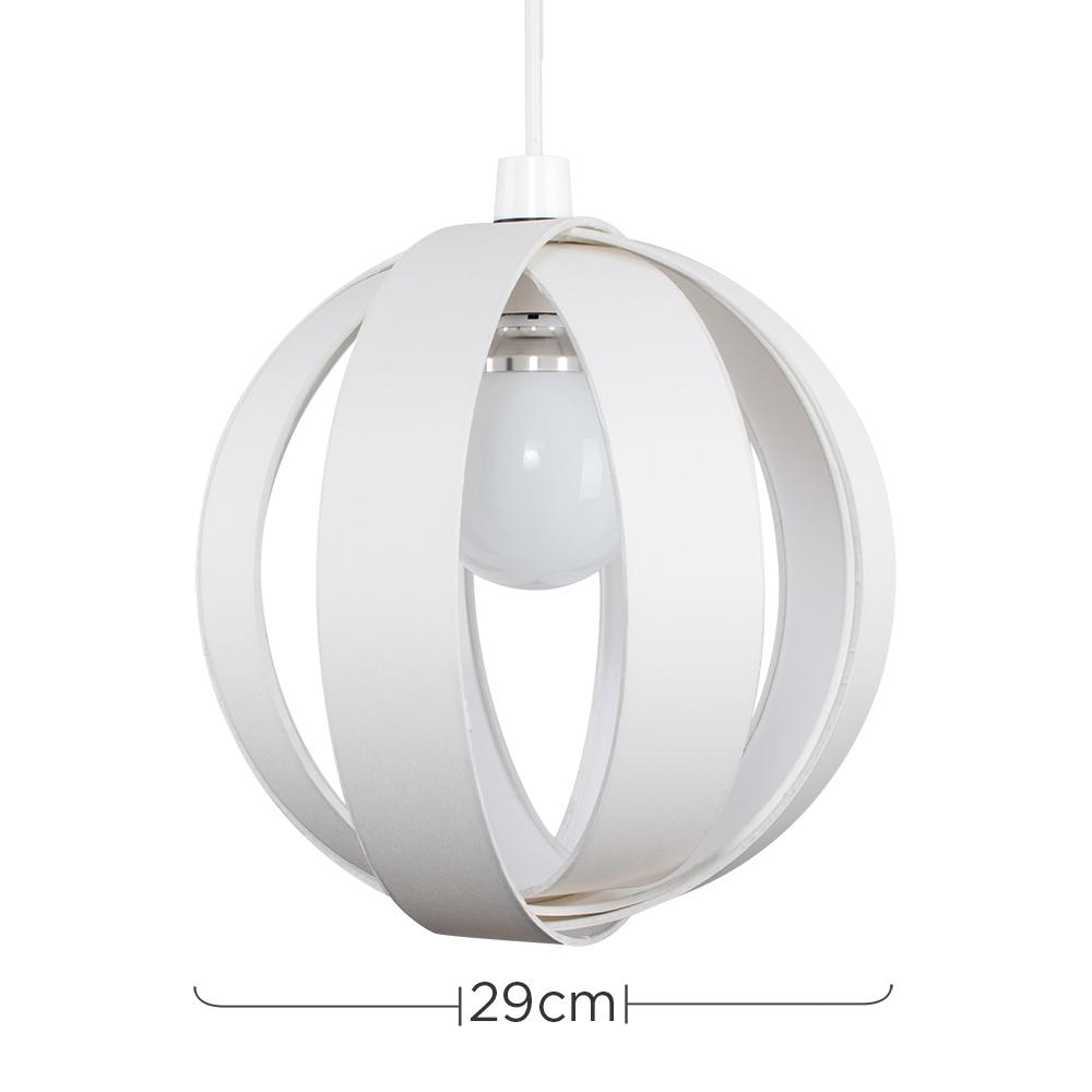 Minisun-Globe-DEL-plafond-lumiere-pendentif-nuances-Abat-jour-eclairage-Ampoule-DEL miniature 25