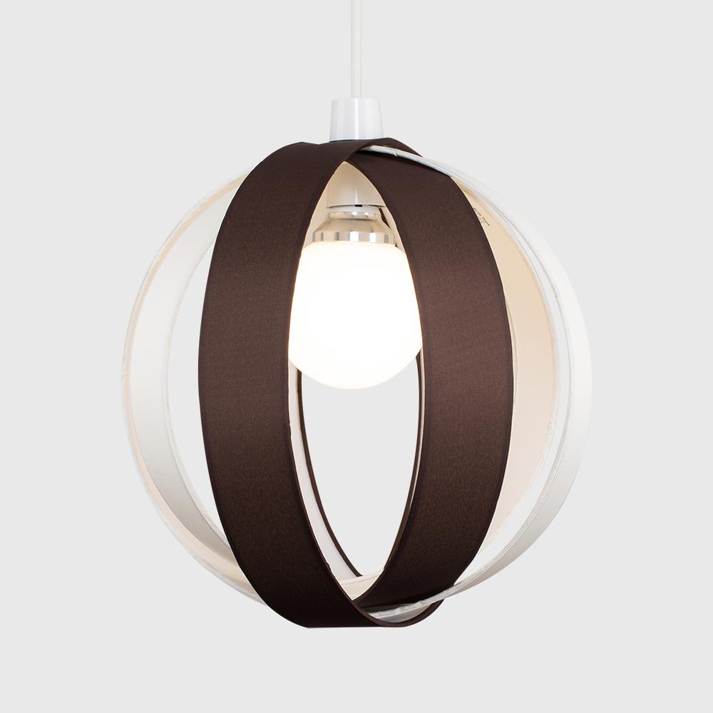 Minisun-Globe-DEL-plafond-lumiere-pendentif-nuances-Abat-jour-eclairage-Ampoule-DEL miniature 16