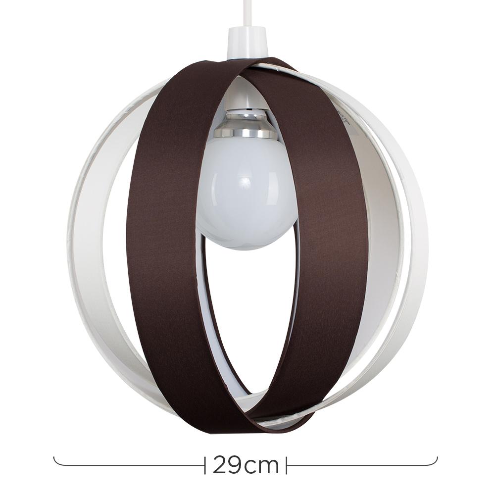 Minisun-Globe-DEL-plafond-lumiere-pendentif-nuances-Abat-jour-eclairage-Ampoule-DEL miniature 18