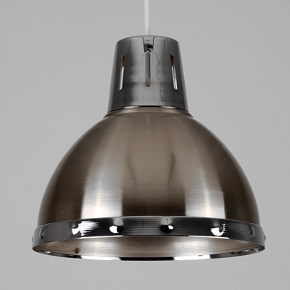 Vintage-Industrial-Loft-Style-Metal-Ceiling-Pendant-Light-Shades-Lampshade-Lamp thumbnail 6
