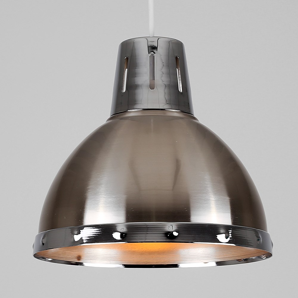Vintage-Industrial-Loft-Style-Metal-Ceiling-Pendant-Light-Shades-Lampshade-Lamp thumbnail 7
