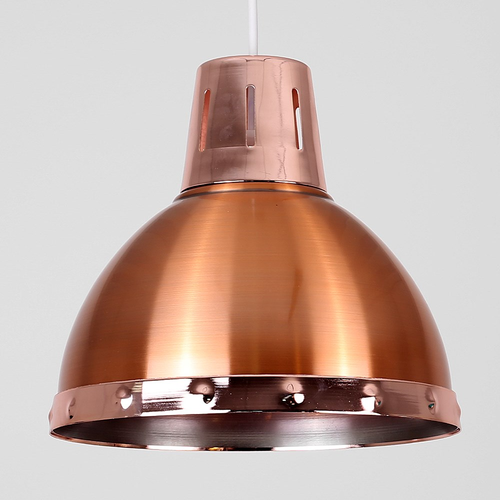 Vintage-Industrial-Loft-Style-Metal-Ceiling-Pendant-Light-Shades-Lampshade-Lamp thumbnail 9