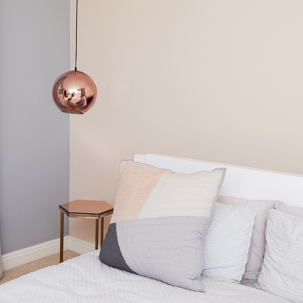 Copper-amp-Chrome-Metallic-Glass-Globe-Non-Electric-Ceiling-Pendant-Easy-Light thumbnail 23