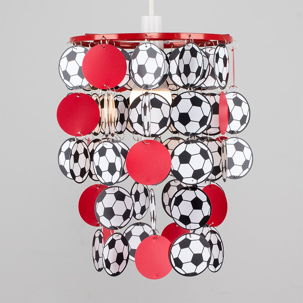 Children-039-s-Ceiling-Pendant-Shade-Kids-Football-Bedroom-Lampshades-Easy-Fit-Light thumbnail 25