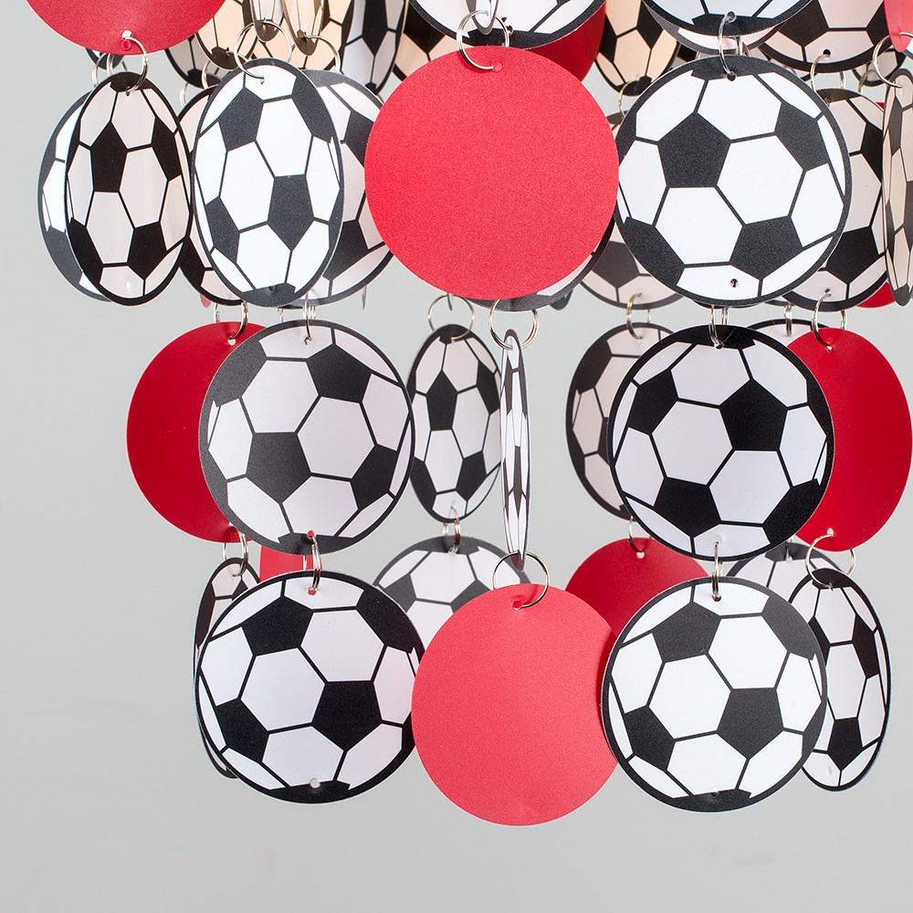Children-039-s-Ceiling-Pendant-Shade-Kids-Football-Bedroom-Lampshades-Easy-Fit-Light thumbnail 26