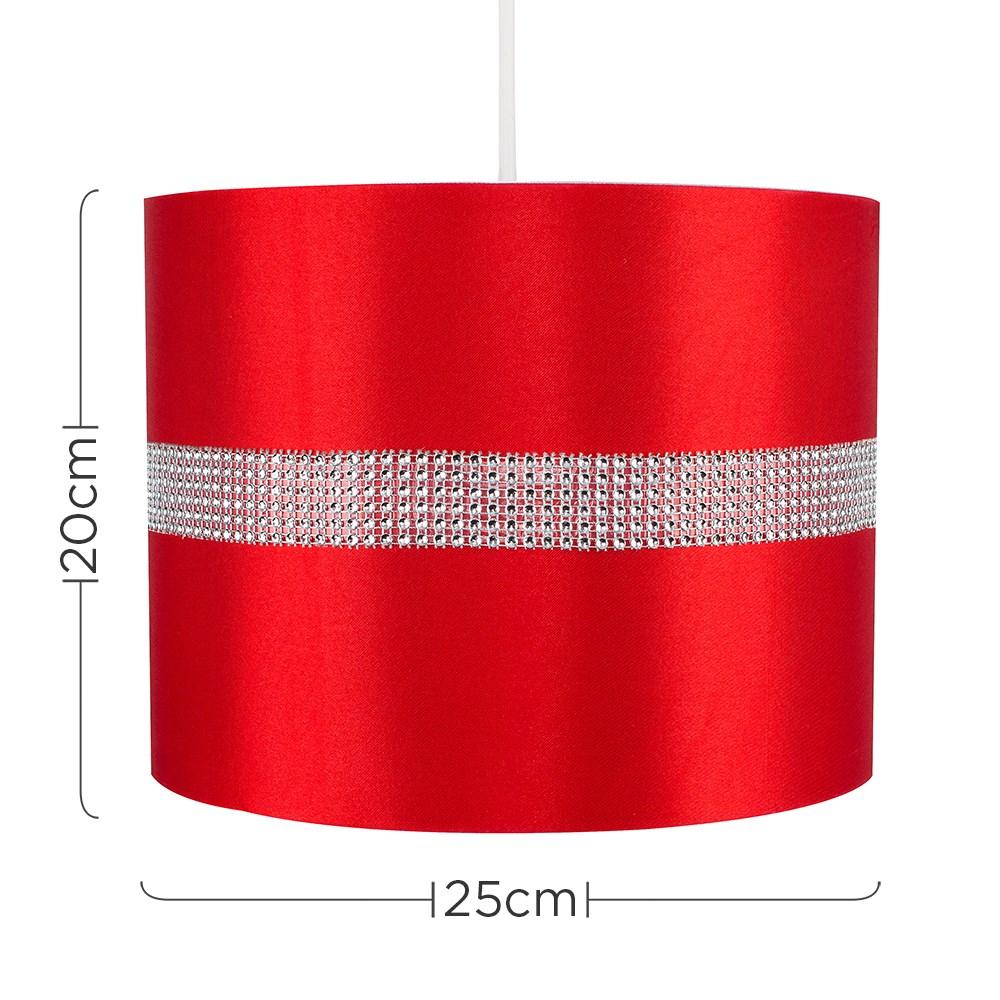 Diamante-non-elettrico-in-Tessuto-Cotone-Tamburo-Tonalita-Tavolo-O-Lampadario-Lampada-da-terra miniatura 31