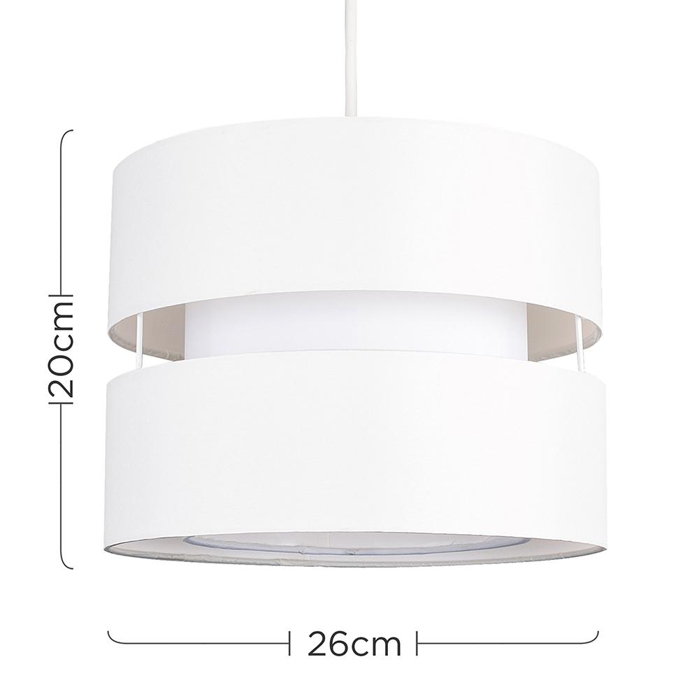 Modern-Easy-Fit-Cotton-Drum-Ceiling-Pendant-Lampshades-Modern-Light-Lighting thumbnail 15