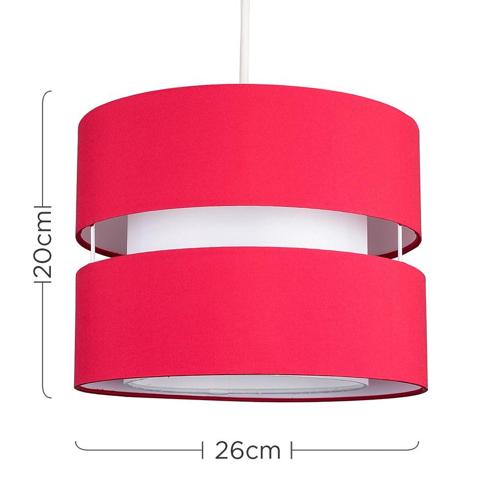 Modern-Easy-Fit-Cotton-Drum-Ceiling-Pendant-Lampshades-Modern-Light-Lighting thumbnail 37