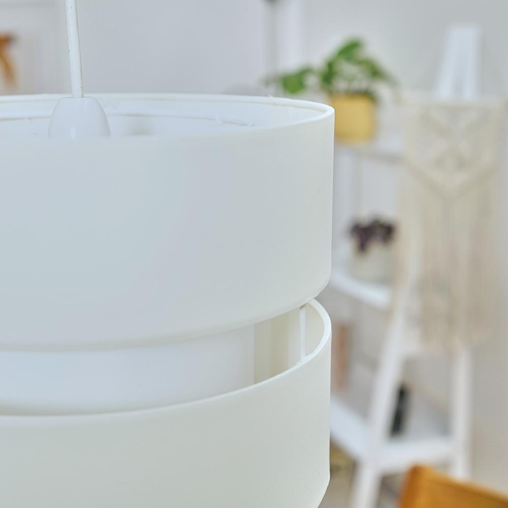 Modern-Easy-Fit-Cotton-Drum-Ceiling-Pendant-Lampshades-Modern-Light-Lighting thumbnail 13