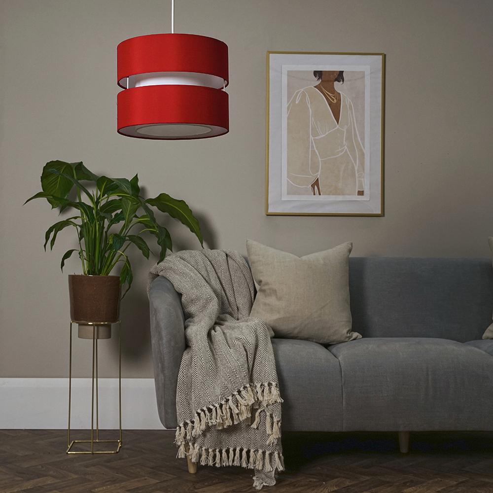 Modern-Easy-Fit-Cotton-Drum-Ceiling-Pendant-Lampshades-Modern-Light-Lighting thumbnail 35