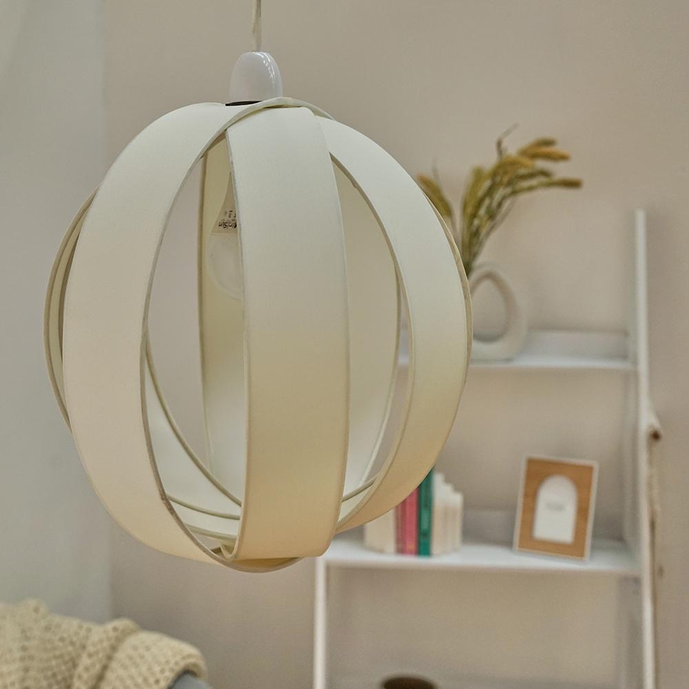 Minisun-Globe-DEL-plafond-lumiere-pendentif-nuances-Abat-jour-eclairage-Ampoule-DEL miniature 24