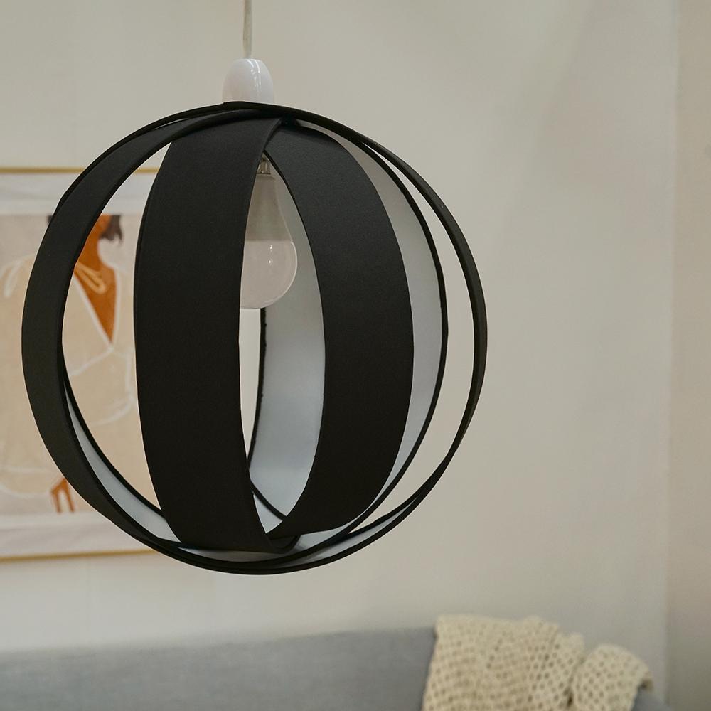 Minisun-Globe-DEL-plafond-lumiere-pendentif-nuances-Abat-jour-eclairage-Ampoule-DEL miniature 5