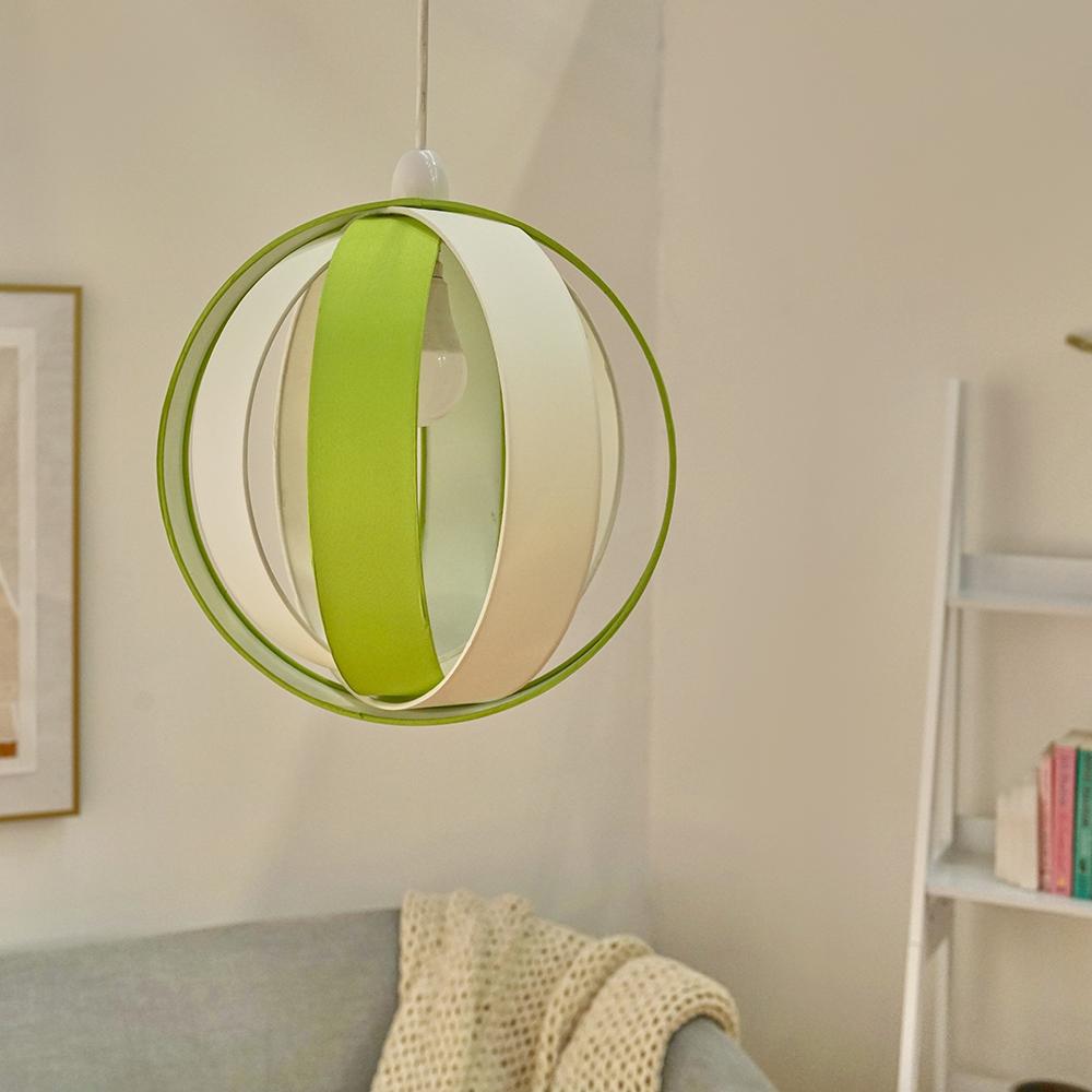 Minisun-Globe-DEL-plafond-lumiere-pendentif-nuances-Abat-jour-eclairage-Ampoule-DEL miniature 35