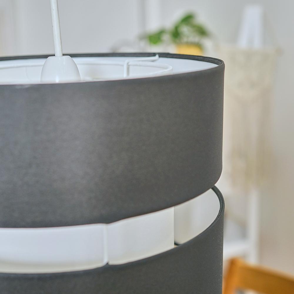 Modern-Easy-Fit-Cotton-Drum-Ceiling-Pendant-Lampshades-Modern-Light-Lighting thumbnail 6