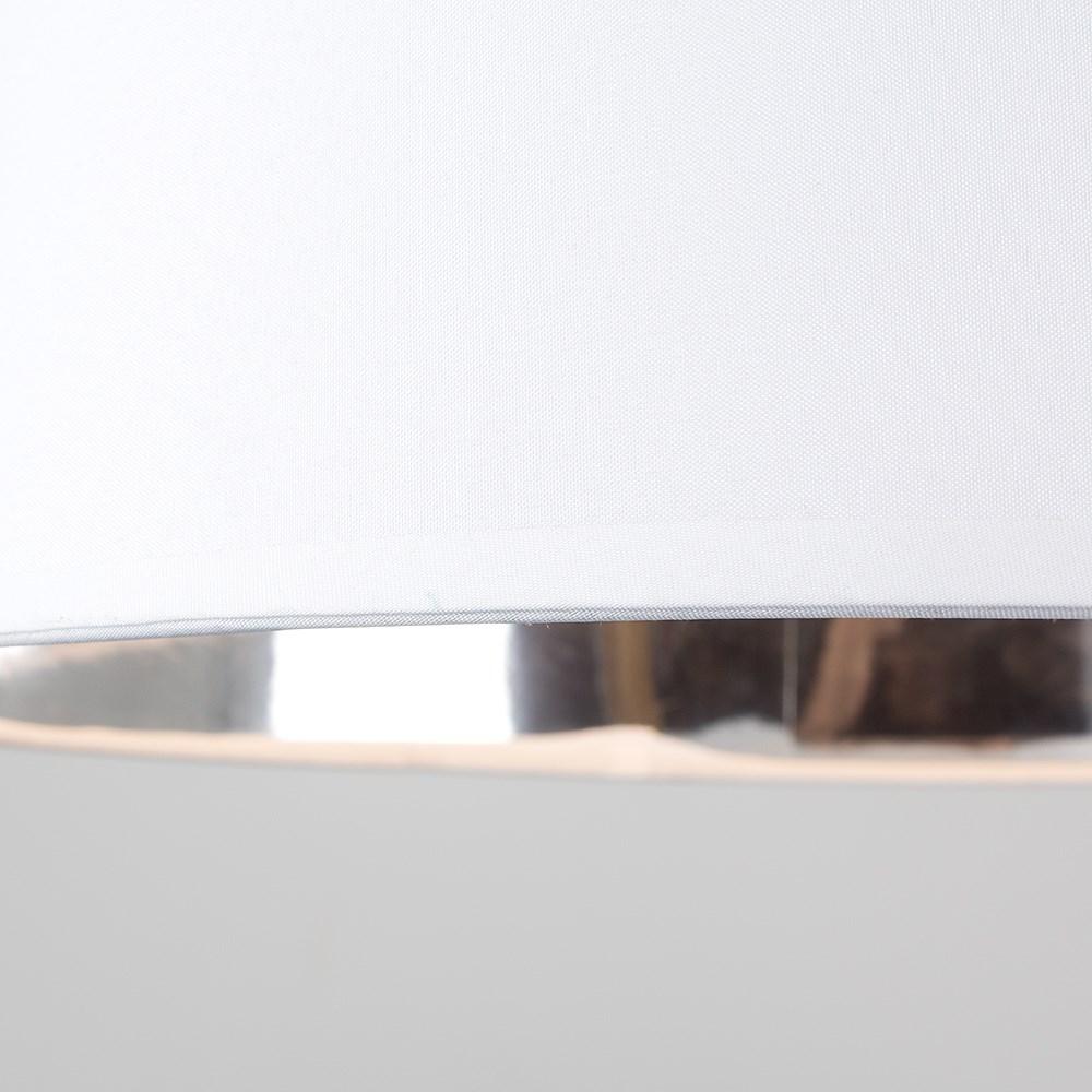 Moderno-Bianco-Da-Soffitto-Tavolo-O-Lampadario-Lampada-da-terra-paralume-colorato-interno miniatura 8
