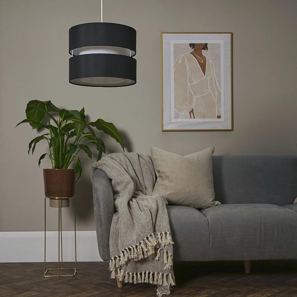 Modern-Easy-Fit-Cotton-Drum-Ceiling-Pendant-Lampshades-Modern-Light-Lighting thumbnail 5