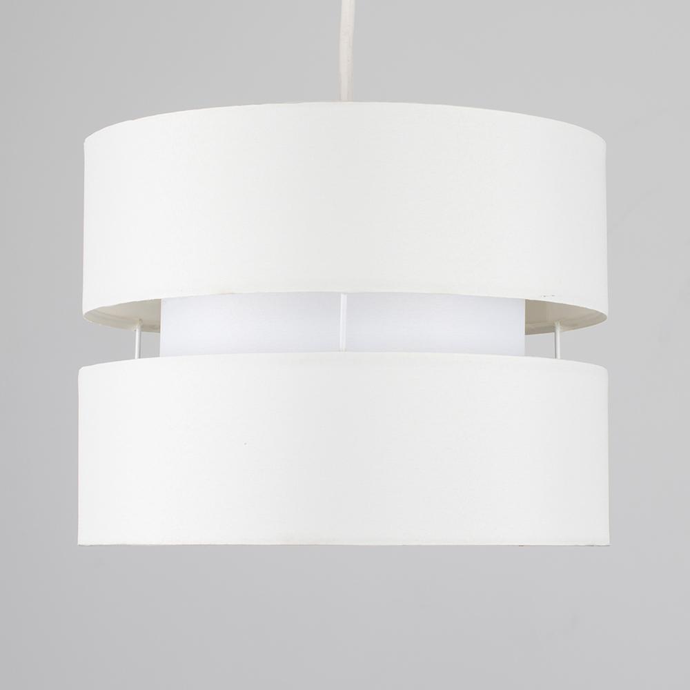 Modern-Easy-Fit-Cotton-Drum-Ceiling-Pendant-Lampshades-Modern-Light-Lighting thumbnail 11