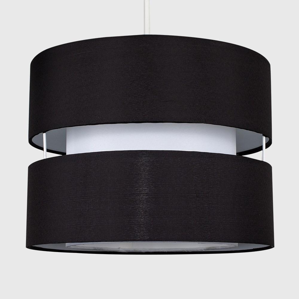 Modern-Easy-Fit-Cotton-Drum-Ceiling-Pendant-Lampshades-Modern-Light-Lighting thumbnail 3