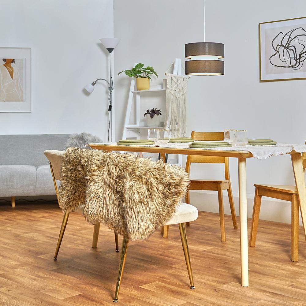 Modern-Easy-Fit-Cotton-Drum-Ceiling-Pendant-Lampshades-Modern-Light-Lighting thumbnail 4