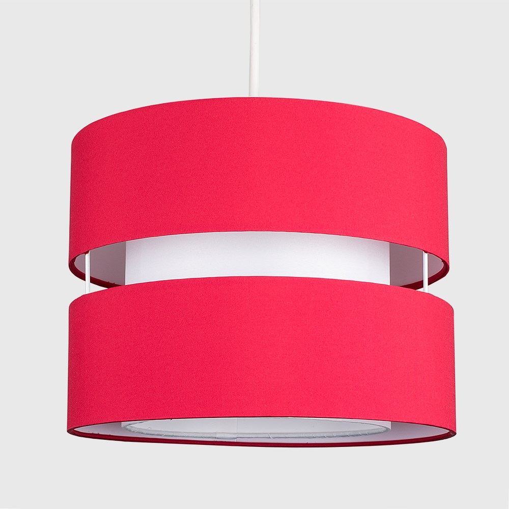 Modern-Easy-Fit-Cotton-Drum-Ceiling-Pendant-Lampshades-Modern-Light-Lighting thumbnail 33